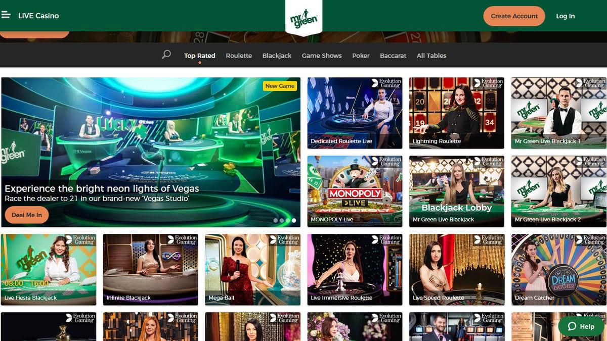 Mr Green Casino Revenue