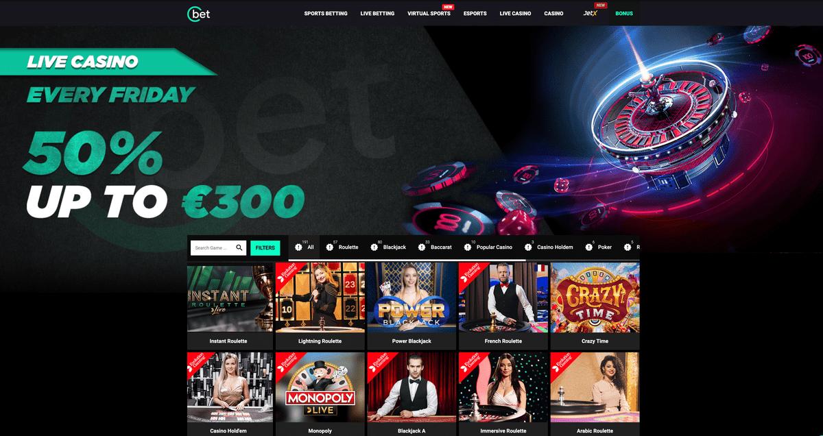 Cbet Casino Review